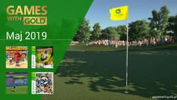 Maj 2019 - darmowe gry w Games With Gold