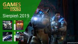Sierpień 2019 - darmowe gry w Games With Gold