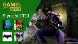 Styczeń 2020 - darmowe gry w Games With Gold