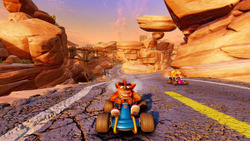 Nowe screeny z Crash Team Racing Nitro-Fueled