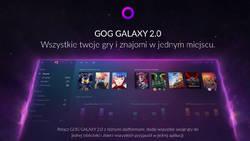 GOG Galaxy 2 pogrupuje wszystkie gry, w tym konsolowe