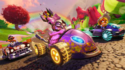 Setki opcji wyglądu gokartów i postaci w Crash Team Racing