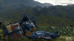 Death Stranging na Gamescomie - szaleństwa Kojimy na gameplayu