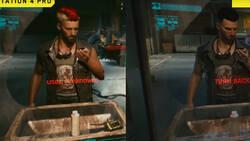 Cyberpunk na gameplayu z PS4 Pro, PS5 i vs. PC