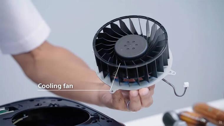 PS5 dostało przynajmniej 3 różne modele wiatraków