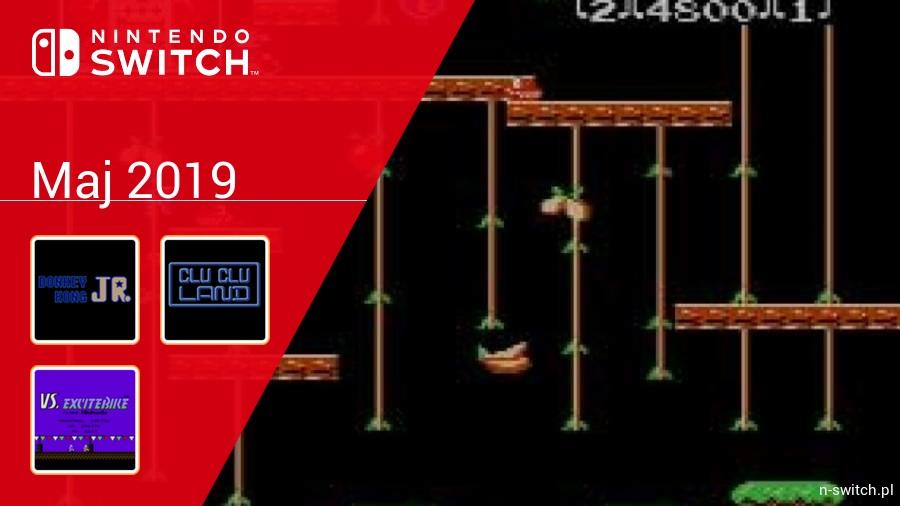 Maj 2019 - darmowe gry w Nintendo Switch Online